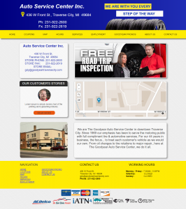 Web Design Tire Dealer